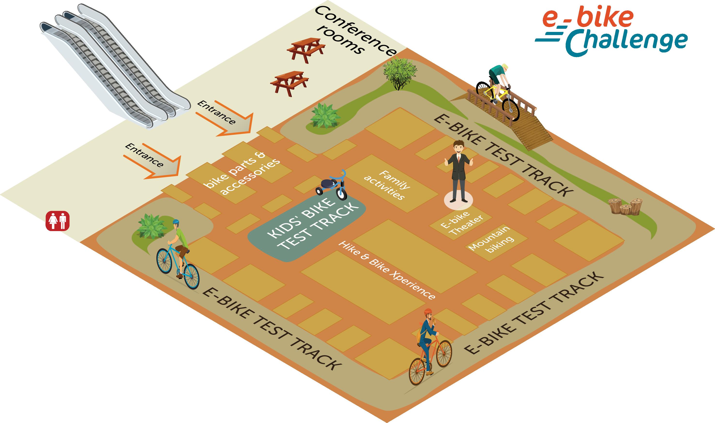 Minneapolis Convention Center Floor Plan: E-bike Challenge Minneapolis